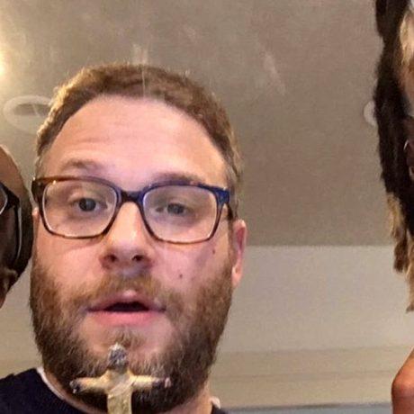 Celebryci zaprzyjaźnili się, paląc grube jointy