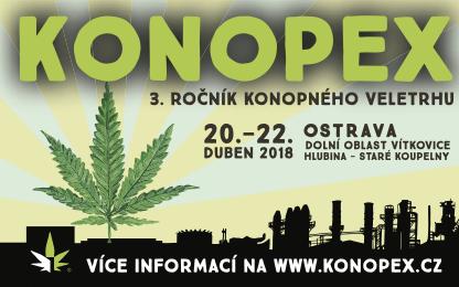 """""""KONOPEX OSTRAWA 2018 – drzwi do świata konopi"""""""