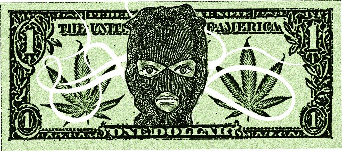 marihuana na czarnym rynku california