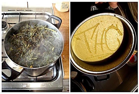 Przygotowanie masła konopnego - krok po kroku