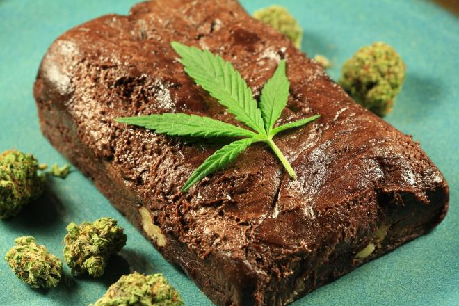 ciasto z marihuaną