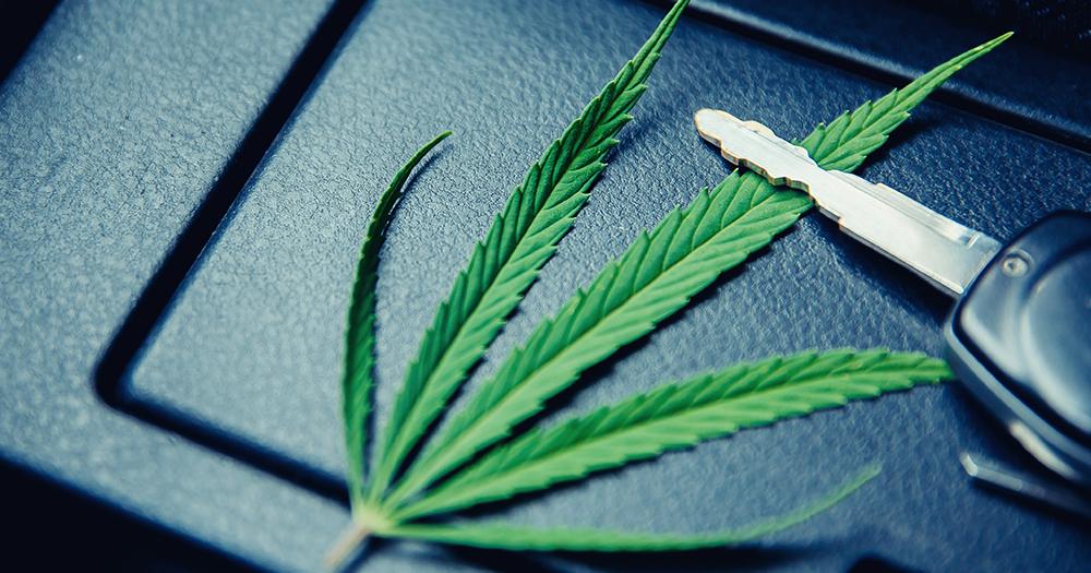 Jazda pod wpływem marihuany