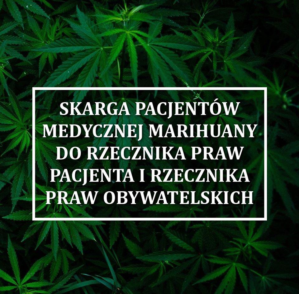 Skarga pacjentów medycznej marihuany