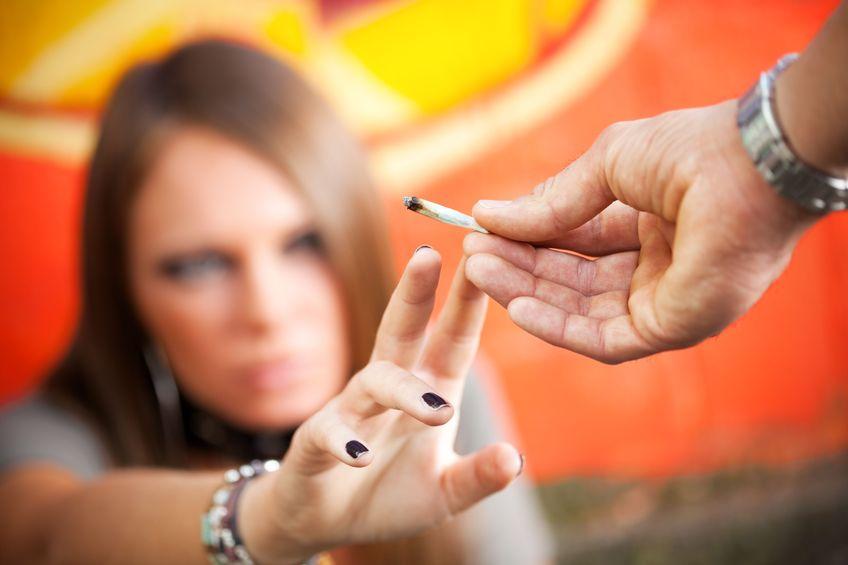 po zapaleniu marihuany