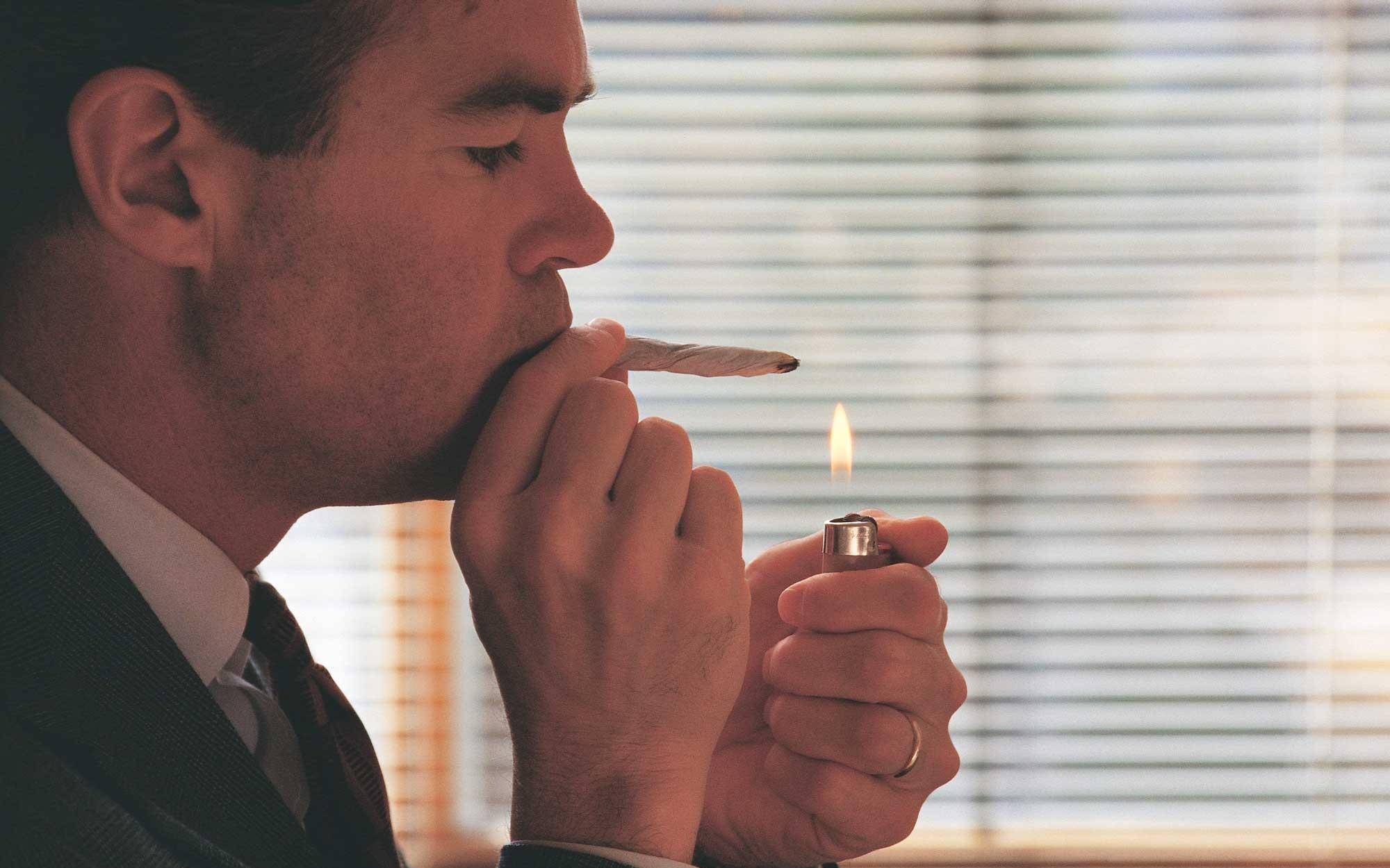 używanie marihuany