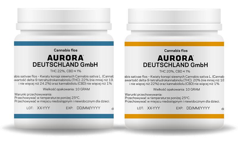 medyczna marihuana od Aurory