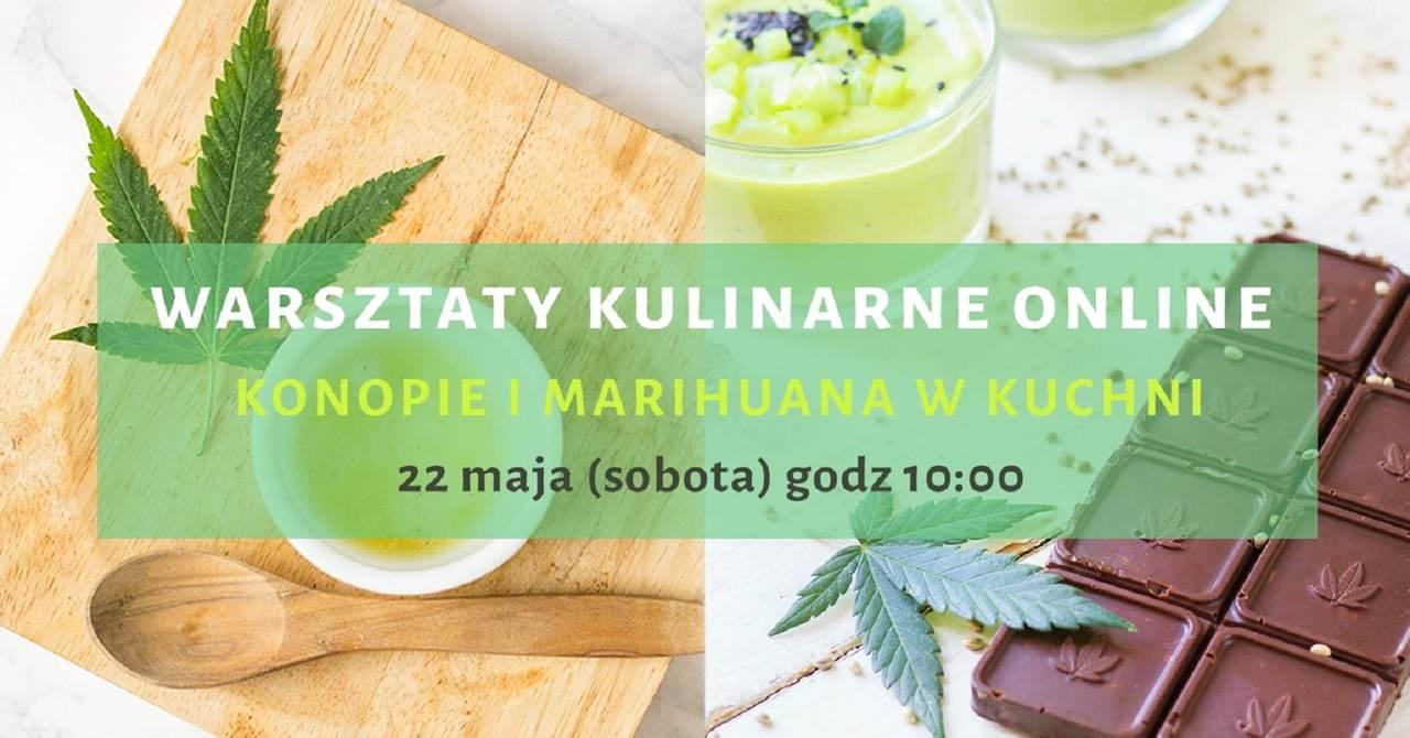 Konopie i marihuana w kuchni